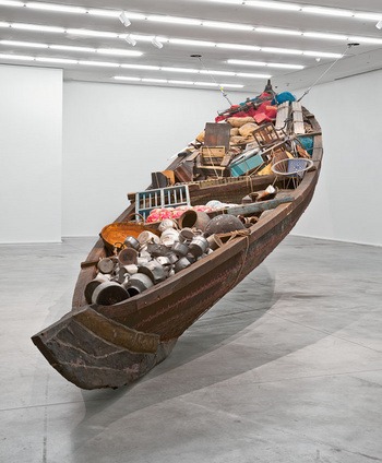 Subodh Gupta, what does the vessel contain that the river does not, hauser & wirth