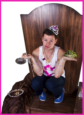 Aaron Twitchen, Guide to Princess Dating, Comedy,