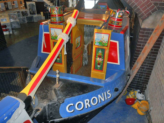 london canal museum, coronis