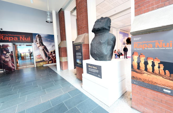 Manchester Museum Rapa Nui Easter Island