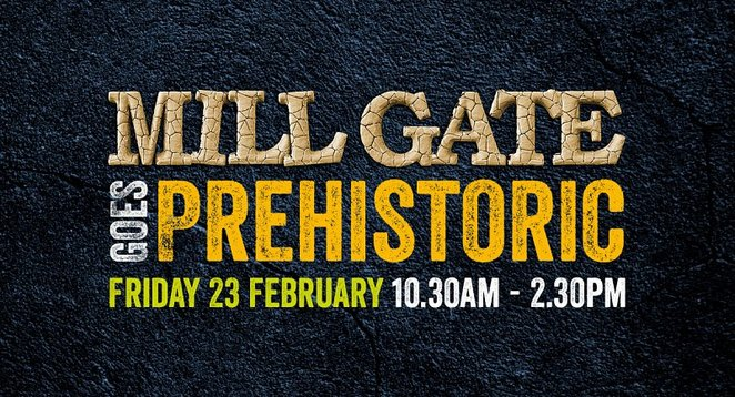Mill gate, bury, shopping, Dinosaurs, cavement, half term, school holidays, family friendly
