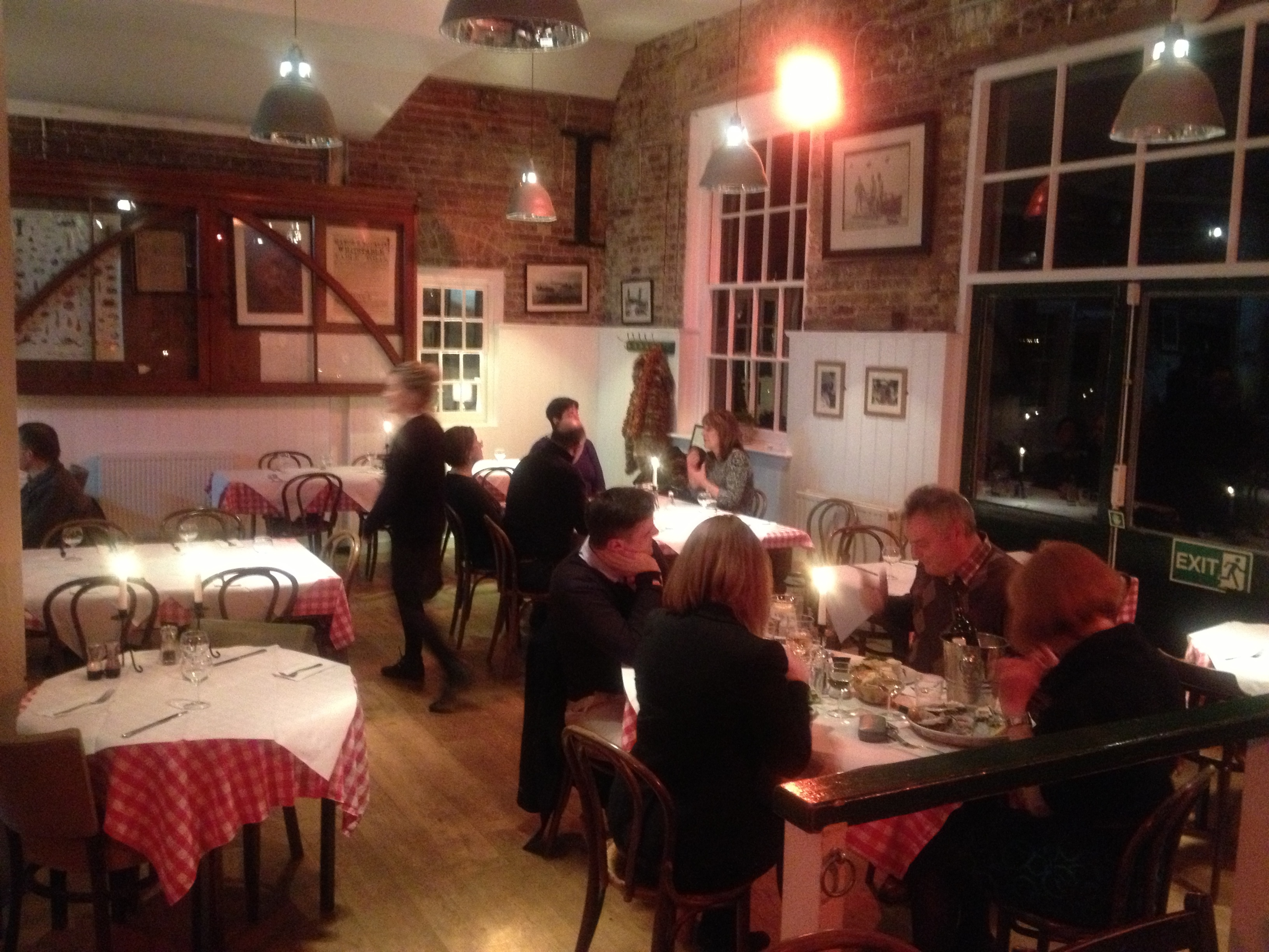 Whitstable Oyster Company Restaurant Kent