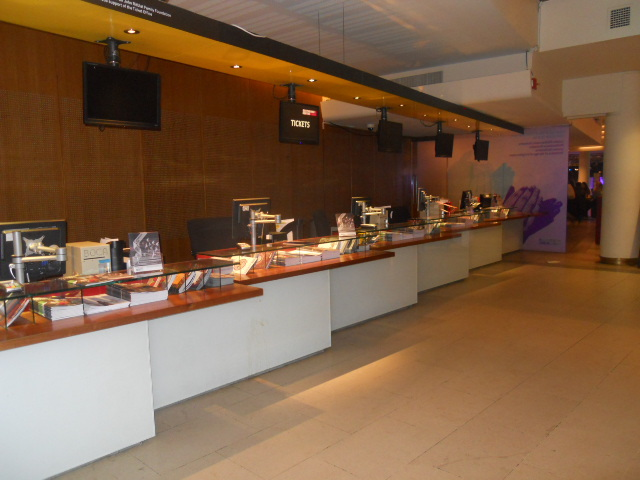 royal Festival Hall, ticket booth