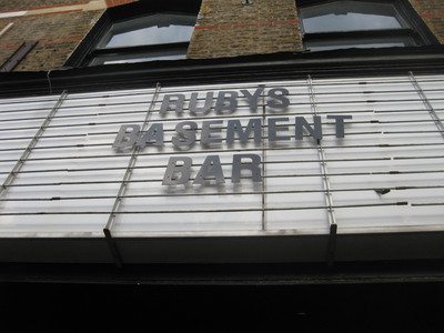 Ruby's Basement Bar Dalston