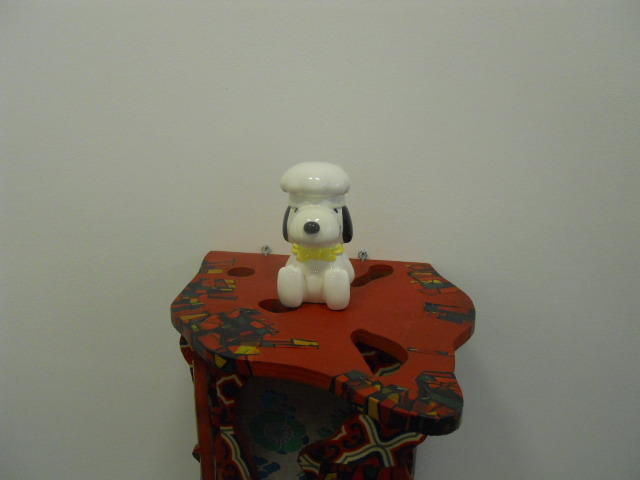 serpentine gallery, kensington gardens, once again the world is flat, Haim Steinbach, snoopy