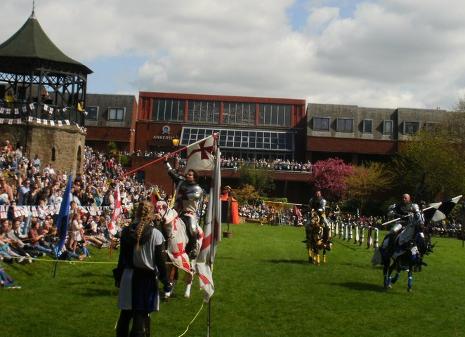 St George's Day Festival, Tamworth Castle Grounds