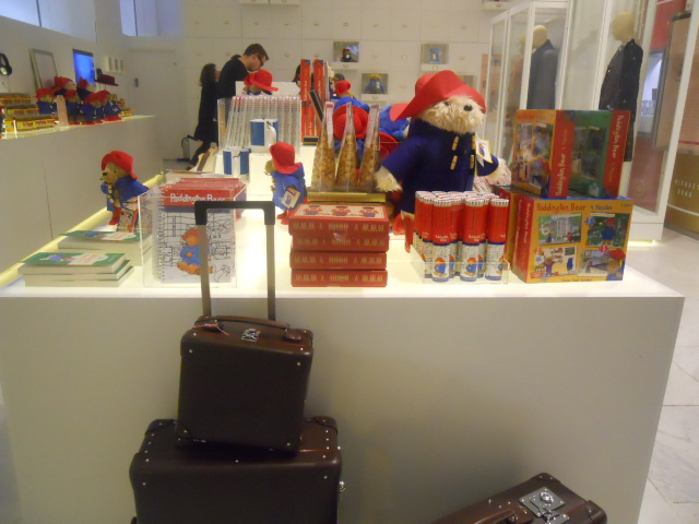 the paddington curiosity shop, selfridges, paddington trail, paddington bear