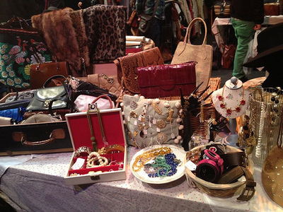 Vintage, Clothes, market, fair, accessories