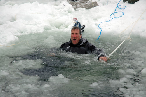 Ben Fogle in Training for South Pole Race 2008
