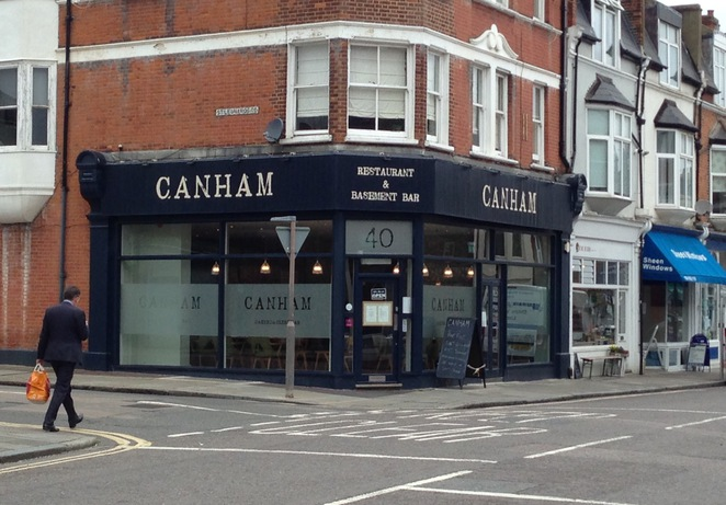 Canham restaurant and bar