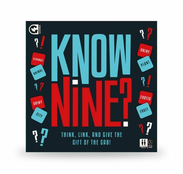 Know nine, games for Christmas, gift ideas