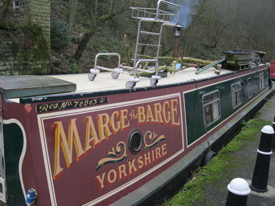 Marge the Barge, Hebden Bridge, Canal, Narrowboat
