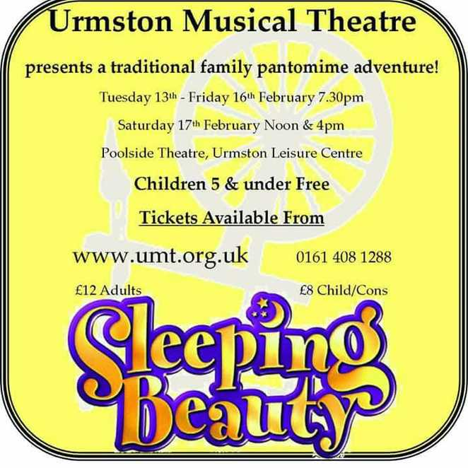 Sleeping Beauty, poster, event, Fairy tale, pantomime, theatre, musical, show, drama, acting, plays,