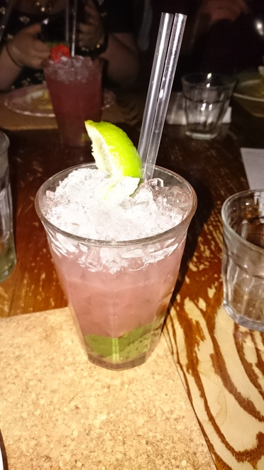 Strawberry Gin Mojito Hillhead Bookclub Glasgow West End