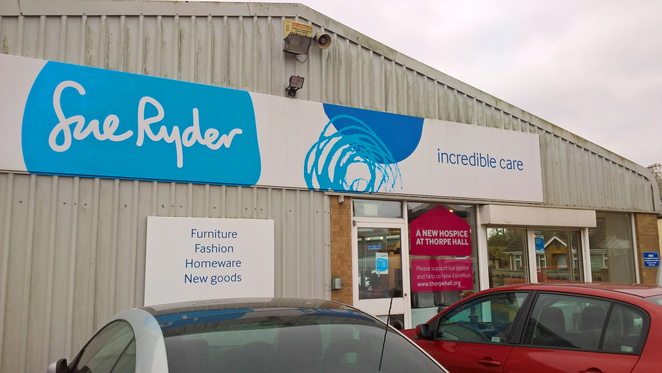 Sue Ryder, charity, shop, furniture, downham market, shopping, charity shop
