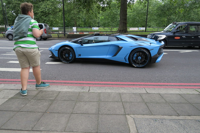 supercars London, arabs london,