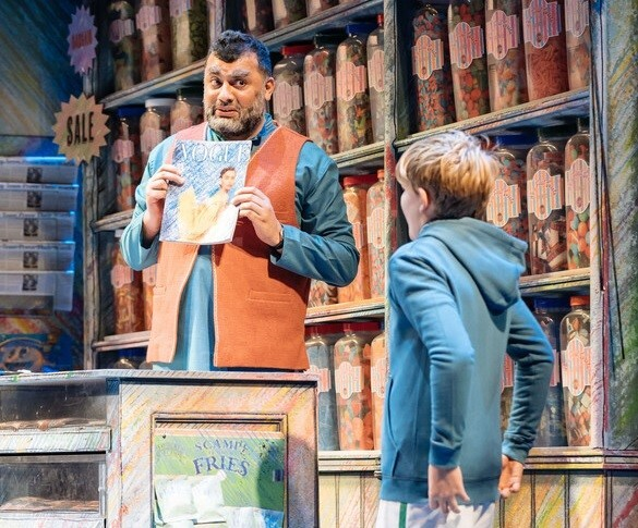 The Boy In The Dress, RSC, David Walliams, Robbie Williams, Christmas shows