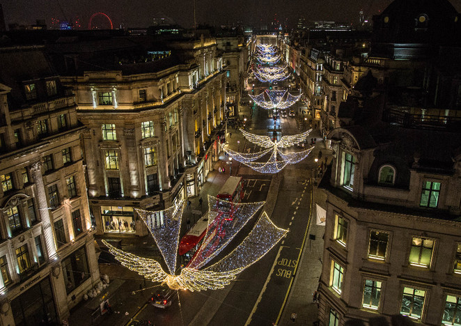 The Spirit of Christmas, Regent St, London