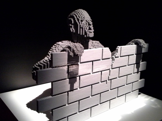 art exhibition,Art of the Brick,LEGO,London art exhibition review