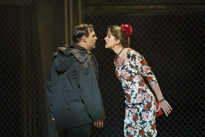 Carmen, WNO, Birmingham Hippodrome, review, UK tour