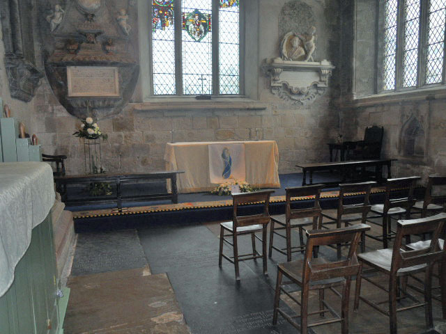 cartmel priory, st mary, st michael, town choir, chapel