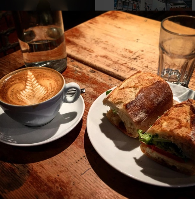coffee edinburgh lunch drink eat design explore city cafe food artisan