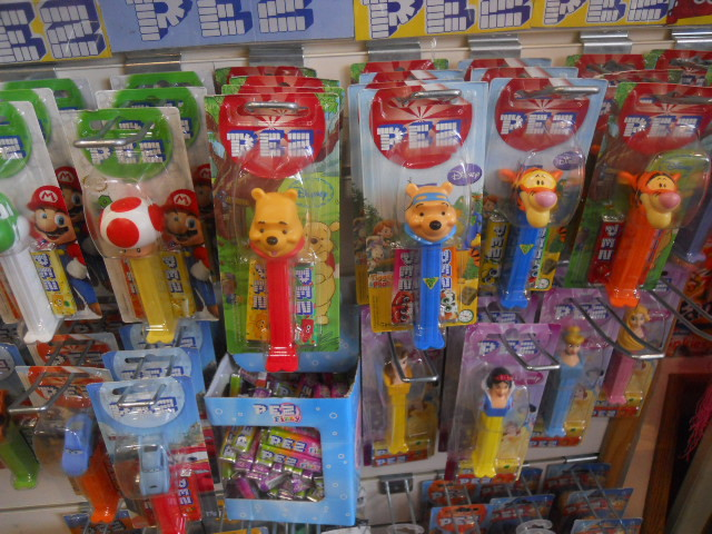 cyber candy, pez