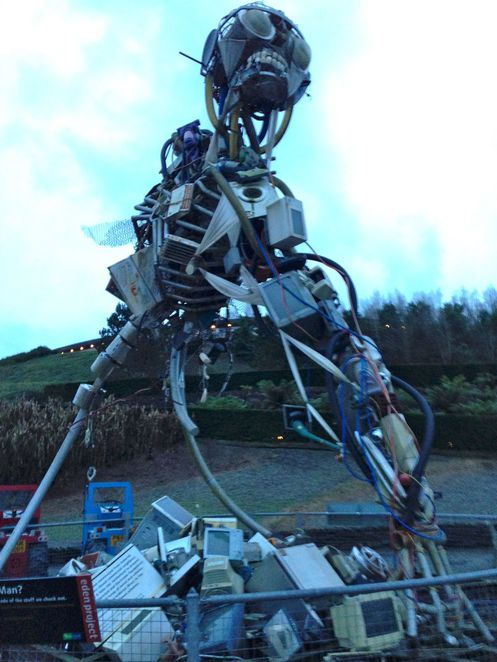 eden project, cornwall, education, plants, nature, forest, conservation, charity, biomes, domes, mediterranean, robot, recycle
