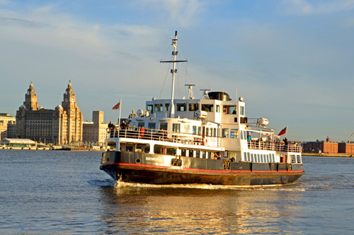 England Liverpool History Rivers Mersey Merseyside Ferry Ship Ships Shipping