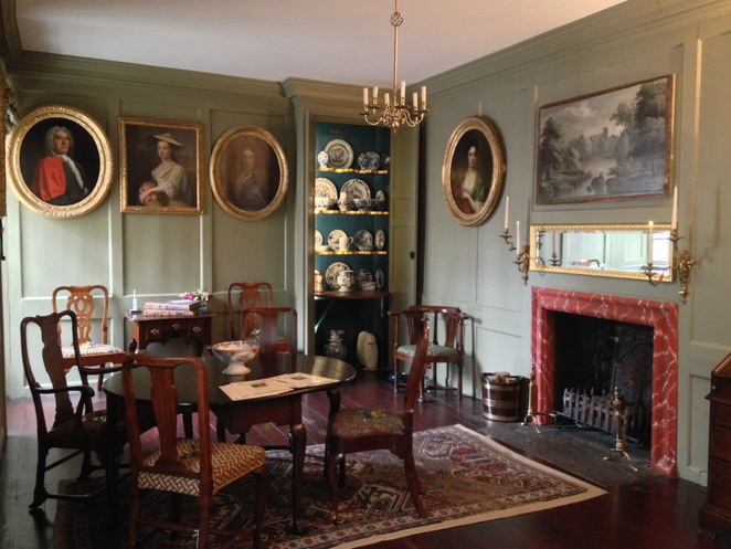 Georgian, Royal Mile, interior design, museum