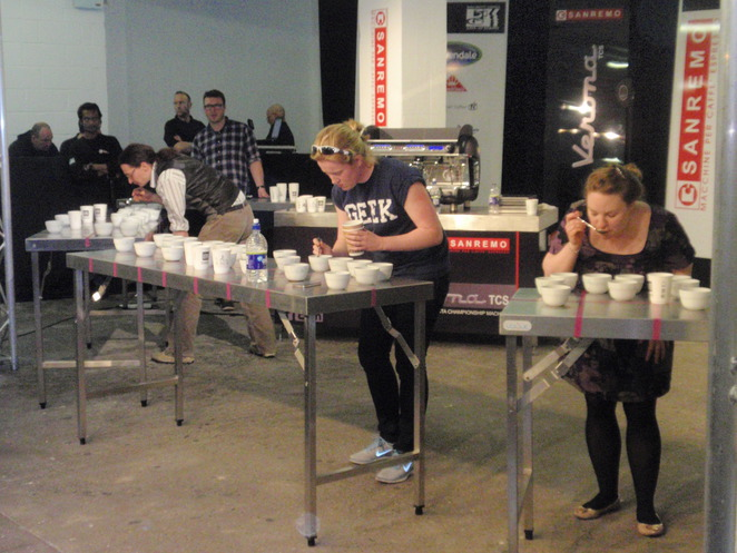 Competition at the London Coffee Festival