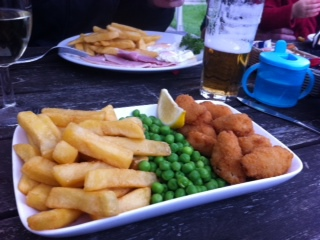 Scampi, Chips, Six Bells, Kidlington, Food, Pub Grub, Family Friendly, Sport