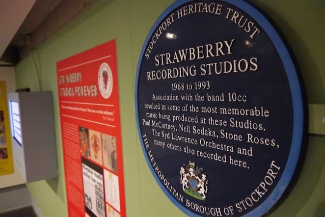 Strawberry Studios, Stockport Museum