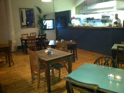 The Reliance, open kitchen