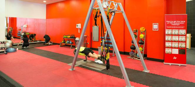 Virgin Active Gym The Printworks, TRX suspension, training, cardio