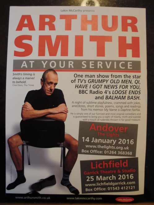 Arthur Smith flyer
