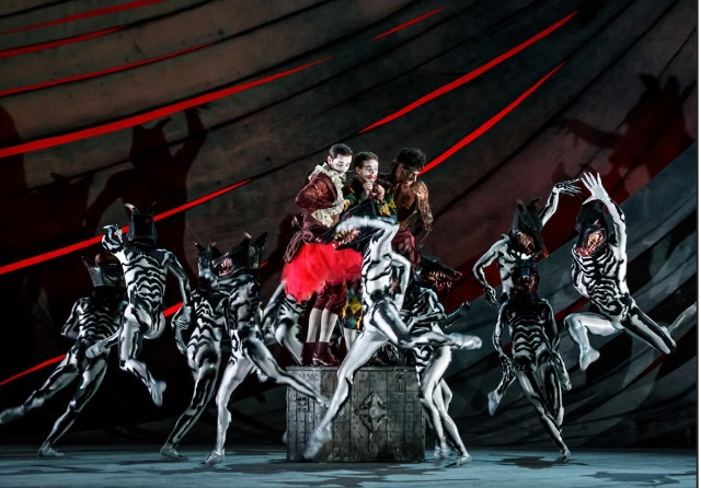 Birmingham Royal Ballet, The Tempest, David Bintley, tour, Birmingham Hippodrome,