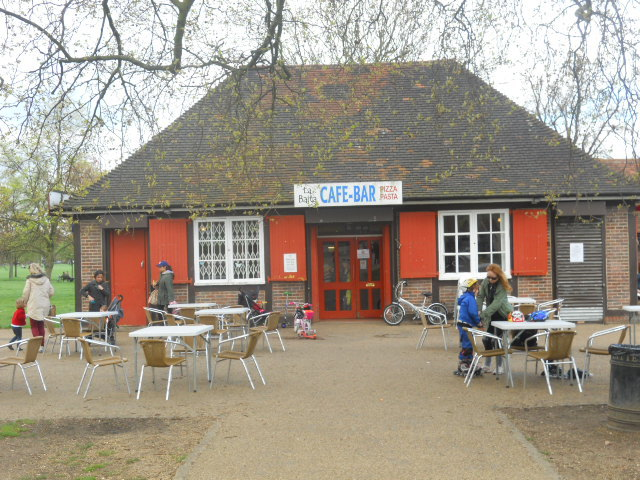 cafe la baita, clapham common