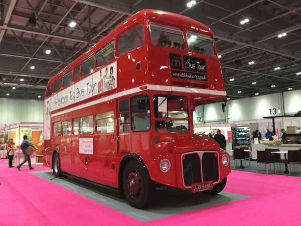 cake & bake show, london, excel, bb bus tour, afternoon tea