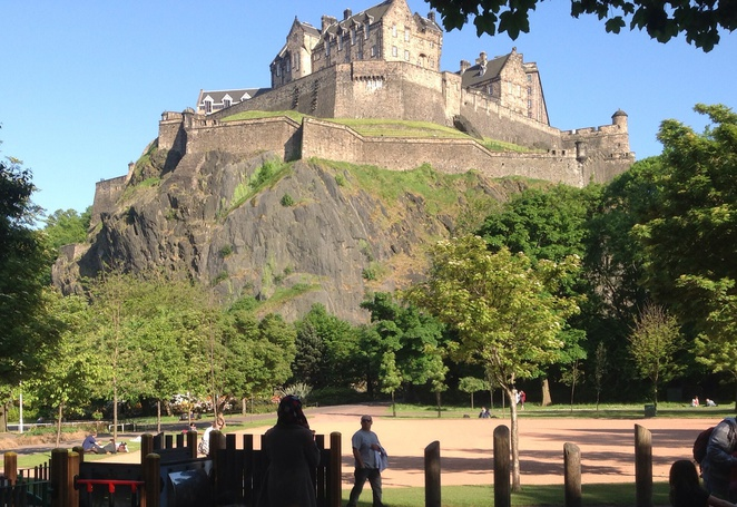 Edinburgh castle, top 5 attractions