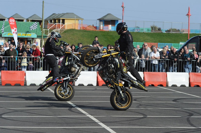 Extreme stunt show merry hill