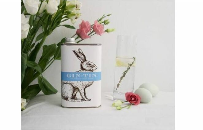 gin in a tin, easter drinks