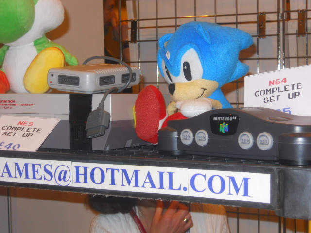 london film and comic convention, sonic the hedgehog