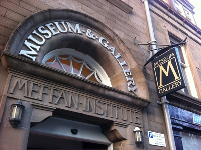 Meffan Museum, Art, Gallery, Contemporary, Scotland, Forfar