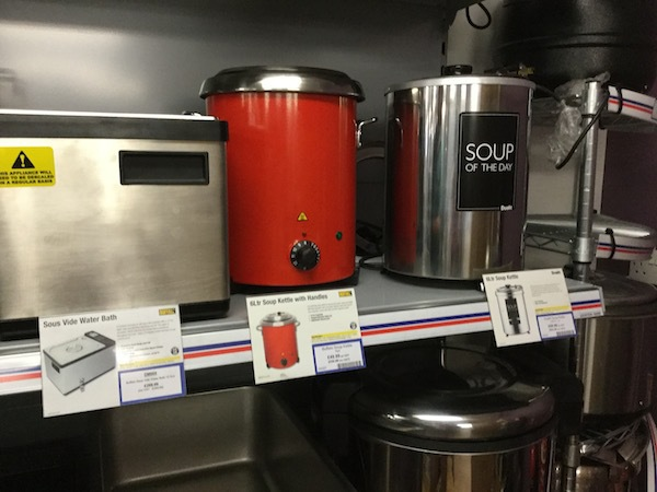 nisbets, catering supplies, soup maker, soup of the day