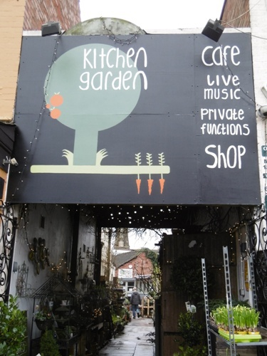 Robert Lane, Kyshona Armstrong, Kitchen Garden Cafe Kings Heath Birmingham