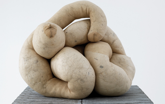 sarah lucas, whitechapel gallery, absolute beach man rubble