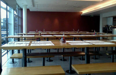 Tables - Image taken by my friend