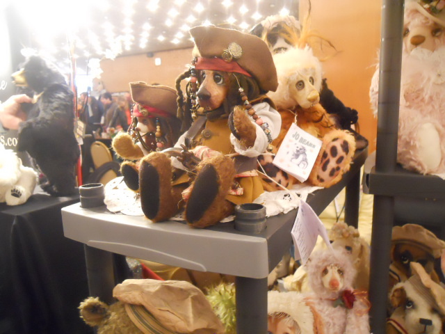 teddies winter fest, teddies 2015, hugglets, captain jack, johnny depp, pirates of the carribean, character