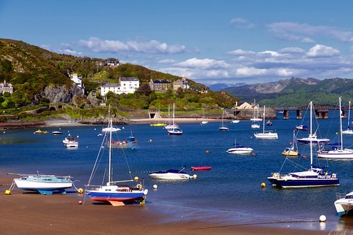 barmouth, wales, north wales, beach, harbour, seaside, uk